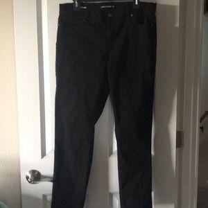 Liz Claiborne skinny boyfriend jeans in black